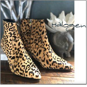 Leopard Calf Hair Bootie 6.5 NEW IN BOX